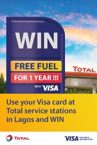 Win free fuel with Visa